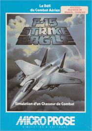 Box cover for F-15 Strike Eagle on the Amstrad CPC.