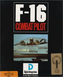 Box cover for F-16 Combat Pilot on the Amstrad CPC.