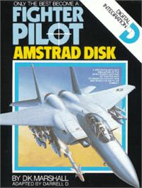 Box cover for Fighter Pilot on the Amstrad CPC.