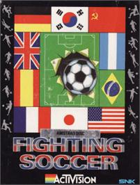 Box cover for Fighting Soccer on the Amstrad CPC.