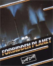 Box cover for Forbidden Planet on the Amstrad CPC.