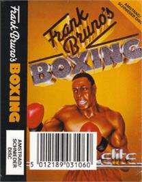 Box cover for Frank Bruno's Boxing on the Amstrad CPC.