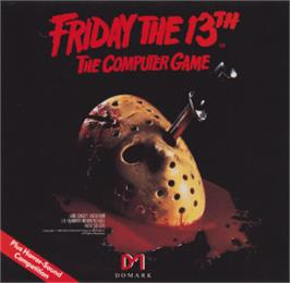 Box cover for Friday the 13th on the Amstrad CPC.