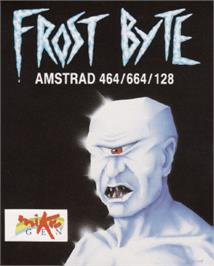 Box cover for Frost Byte on the Amstrad CPC.