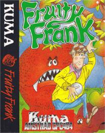 Box cover for Fruity Frank on the Amstrad CPC.