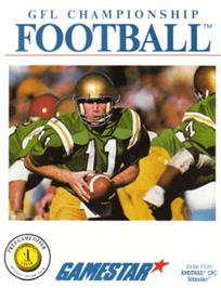 Box cover for GFL Championship Football on the Amstrad CPC.