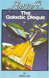 Box cover for Galactic Plague on the Amstrad CPC.