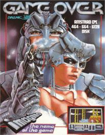 Box cover for Game Over on the Amstrad CPC.