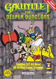 Box cover for Gauntlet the Deeper Dungeons on the Amstrad CPC.