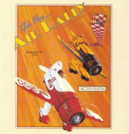 Box cover for Gee Bee Air Rally on the Amstrad CPC.