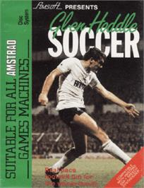 Box cover for Glen Hoddle Soccer on the Amstrad CPC.