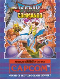 Box cover for Global Commander on the Amstrad CPC.