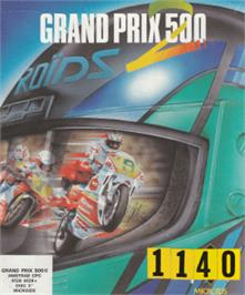 Box cover for Grand Prix 500 2 on the Amstrad CPC.