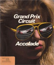 Box cover for Grand Prix Circuit on the Amstrad CPC.