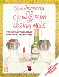 Box cover for Growing Pains of Adrian Mole on the Amstrad CPC.