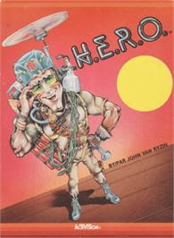 Box cover for HERO on the Amstrad CPC.