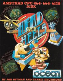 Box cover for Head Over Heels on the Amstrad CPC.