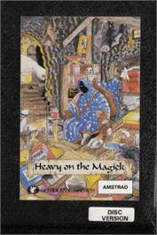 Box cover for Heavy on the Magick on the Amstrad CPC.