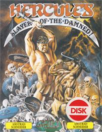 Box cover for Hercules: Slayer of the Damned on the Amstrad CPC.