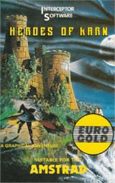 Box cover for Heroes of Karn on the Amstrad CPC.