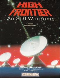 Box cover for High Frontier on the Amstrad CPC.
