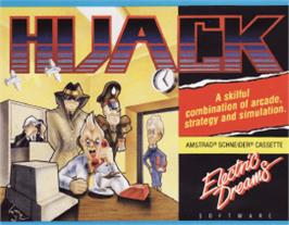 Box cover for Hijack on the Amstrad CPC.
