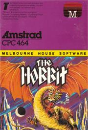 Box cover for Hobbit on the Amstrad CPC.