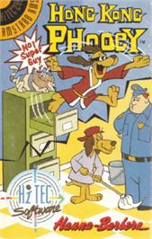 Box cover for Hong Kong Phooey: No.1 Super Guy on the Amstrad CPC.