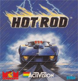 Box cover for Hot Rod on the Amstrad CPC.