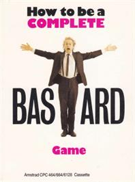 Box cover for How to be a Complete Bastard on the Amstrad CPC.