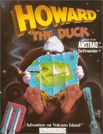 Box cover for Howard the Duck on the Amstrad CPC.