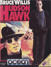 Box cover for Hudson Hawk on the Amstrad CPC.
