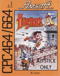 Box cover for Hunchback on the Amstrad CPC.