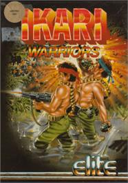Box cover for Ikari Warriors on the Amstrad CPC.