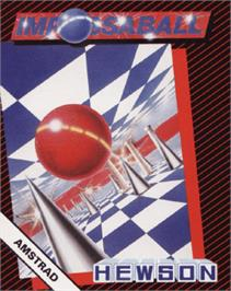 Box cover for Impossaball on the Amstrad CPC.