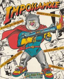 Box cover for Impossamole on the Amstrad CPC.