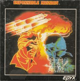 Box cover for Impossible Mission on the Amstrad CPC.