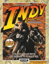 Box cover for Indiana Jones and the Last Crusade: The Action Game on the Amstrad CPC.