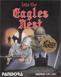 Box cover for Into the Eagle's Nest on the Amstrad CPC.