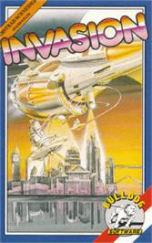 Box cover for Invasion on the Amstrad CPC.