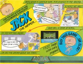 Box cover for Jack the Nipper on the Amstrad CPC.