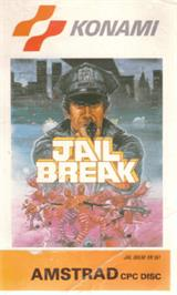 Box cover for Jail Break on the Amstrad CPC.