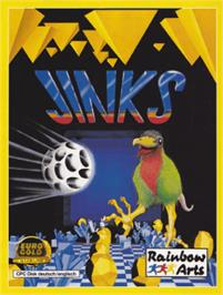 Box cover for Jinks on the Amstrad CPC.