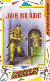 Box cover for Joe Blade on the Amstrad CPC.