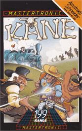 Box cover for Kane on the Amstrad CPC.