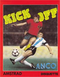 Box cover for Kick Off on the Amstrad CPC.