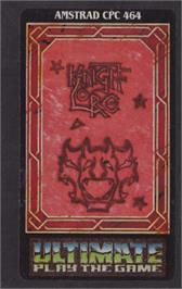 Box cover for Knight Lore on the Amstrad CPC.