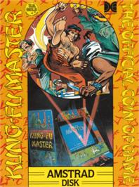 Box cover for Kung-Fu Master on the Amstrad CPC.