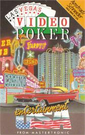 Box cover for Las Vegas Video Poker on the Amstrad CPC.