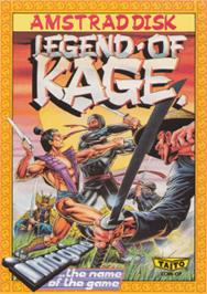 Box cover for Legend of Kage, The on the Amstrad CPC.